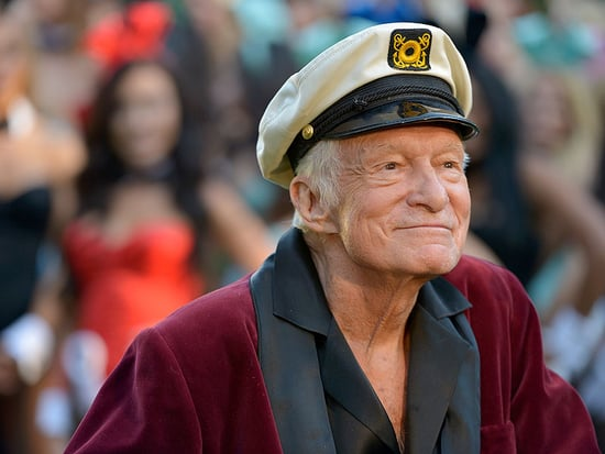 Hugh Hefner Squashes Rumors That He's 'Sick' - and Enjoys Movie Night with Wife Crystal!