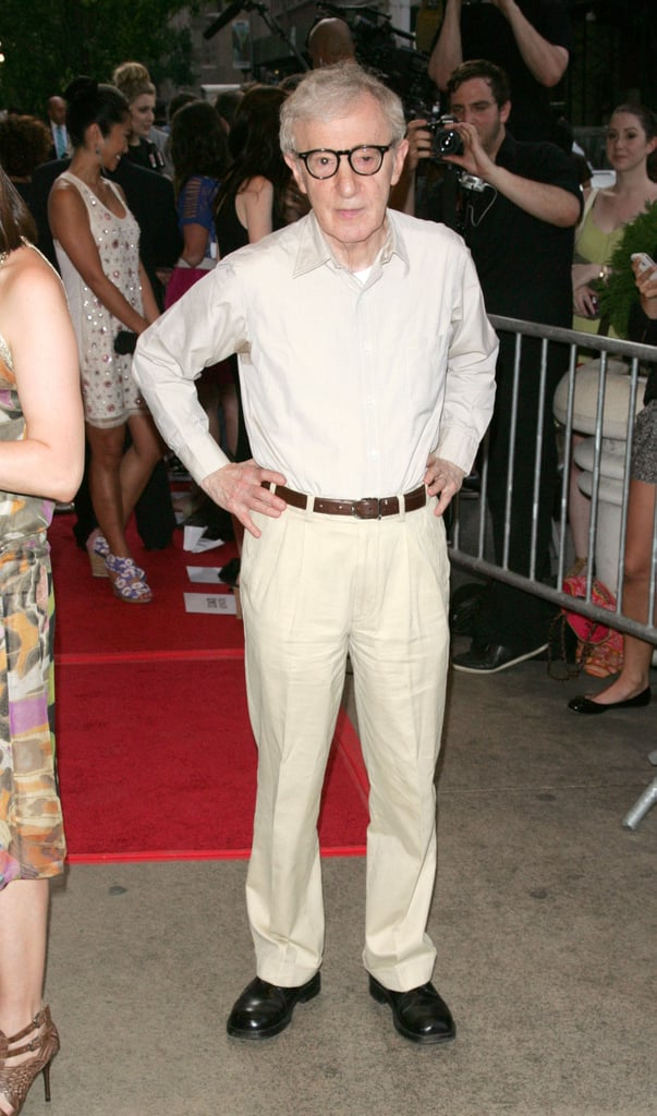 Woody Allen attended a screening of To Rome With Love in NYC.