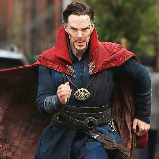 Benedict Cumberbatch Filming Doctor Strange Set Pictures