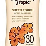Hawaiian Tropic Sheer Touch Lotion Sunscreen SPF 30 ($7)
