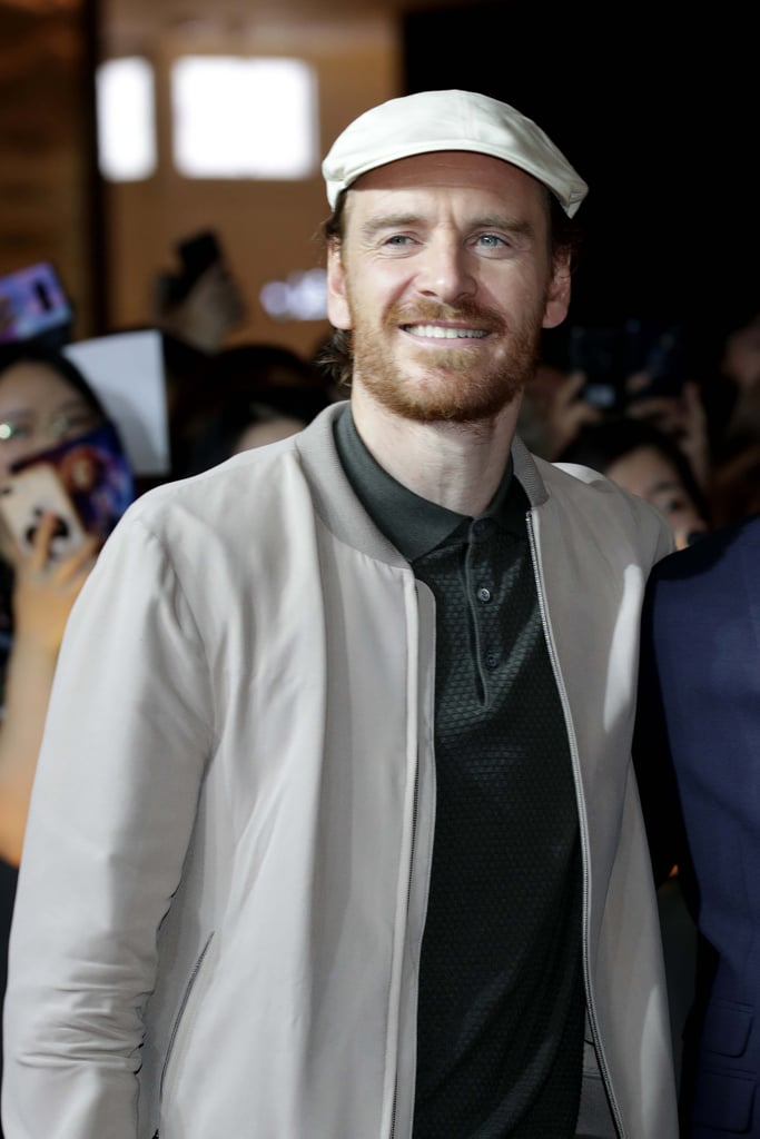 Michael Fassbender in Real Life