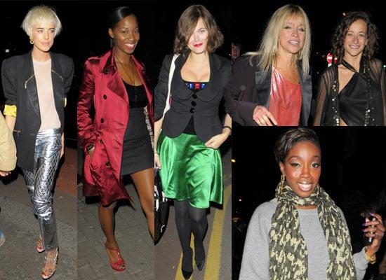 Photos Of Agyness Deyn, Jamelia, Jasmine Guinness, Jo Wood, Leah Wood, Estelle At Swarovski Party