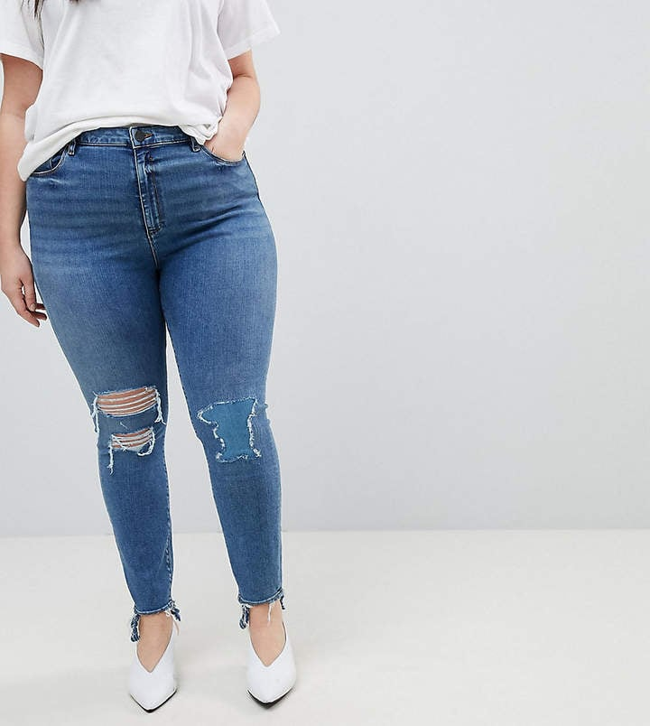 Asos Ridley High Waist Skinny Jeans