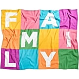 "Novogratz-Designed ""Family"" Blanket"