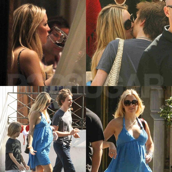 Pictures of Pregnant Kate Hudson in Argentina