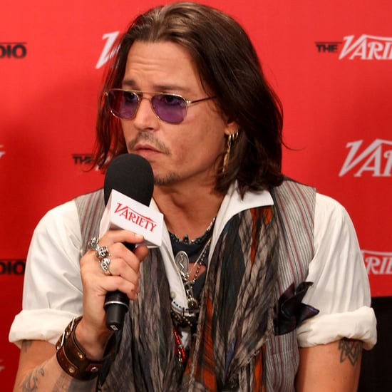 Johnny Depp Supports West of Memphis at the 2012 Toronto International Film Festival