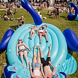 A Field of Giant Pool Floats