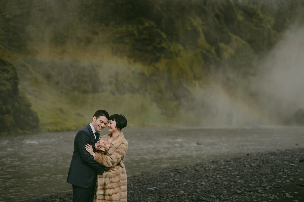 Iceland Winter Wedding Photos