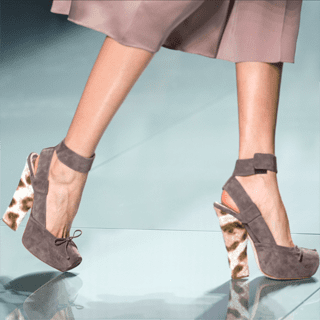 Paris Fashion Week Trend Report: Ankle-Strap Shoes