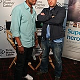 Dule Hill and James Roday