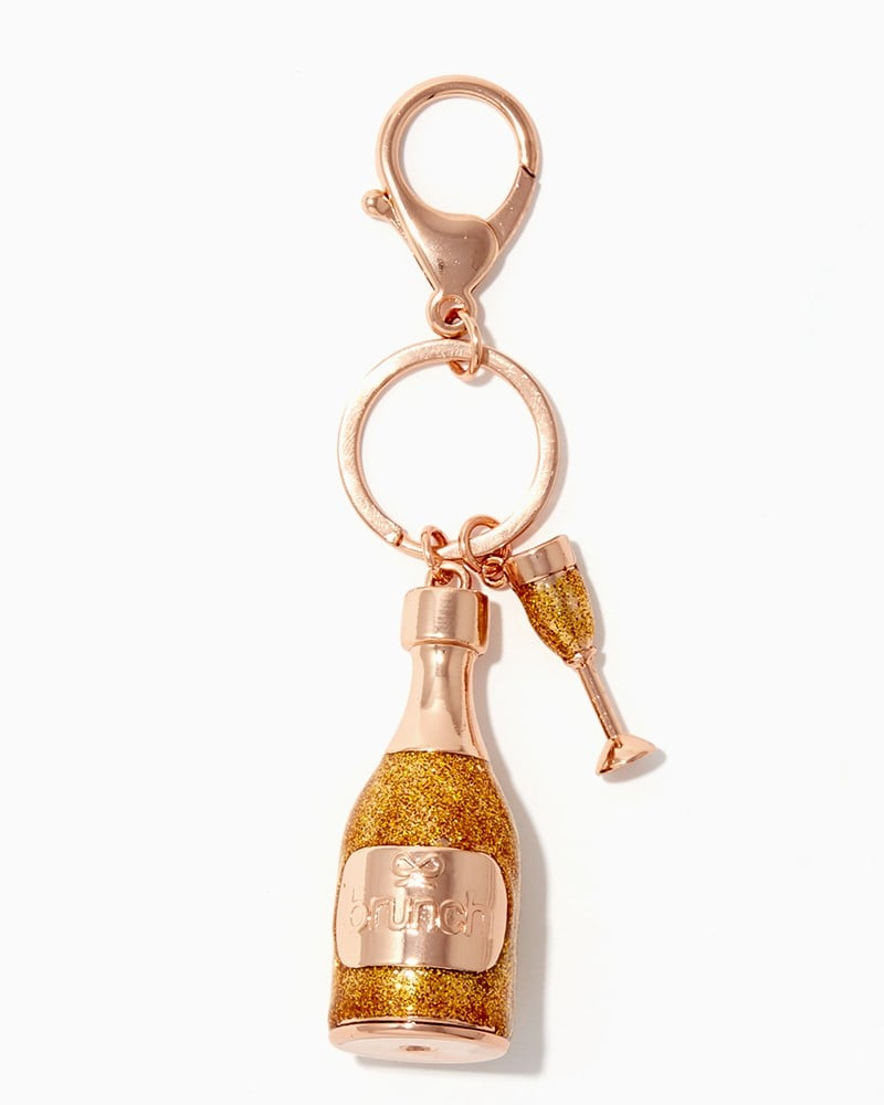 Keep it chill with a champagne bottle charm ($8).