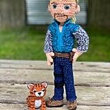 Exotic Tiger Man Crochet Amigurumi Pattern