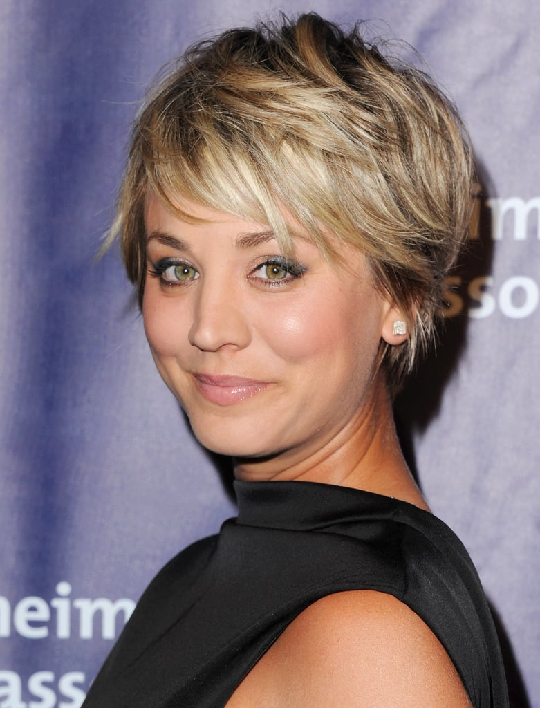 Kaley Cuoco Proves That Even Short Stranded Gals Can Get In On The