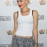 Gwen Stefani posed at the annual A Time For Heroes Celebrity Picnic in LA.