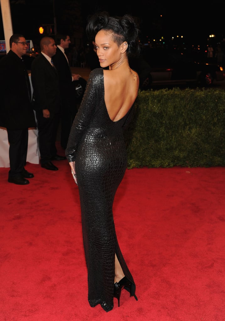 Rihanna's Tom Ford dress is something seriously sexy to behold, as proven at this year's Met Gala.