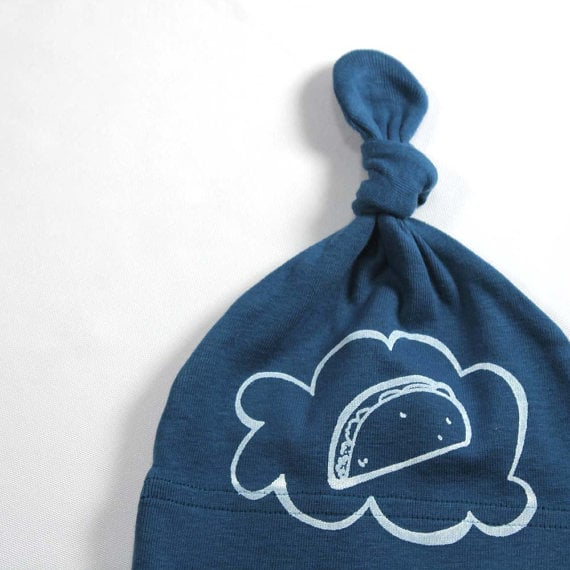 LEFTRight Organic Baby Taco Hat ($15)
