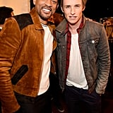 Pictured: Will Smith and Eddie Redmayne