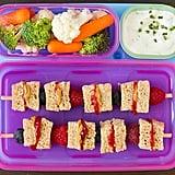 PB&J Fruit Kebabs