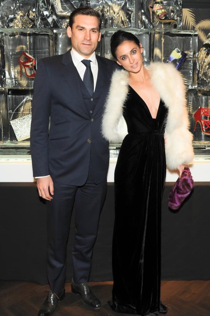 Jonathan and Erika Bearman at the Jimmy Choo collection launch.