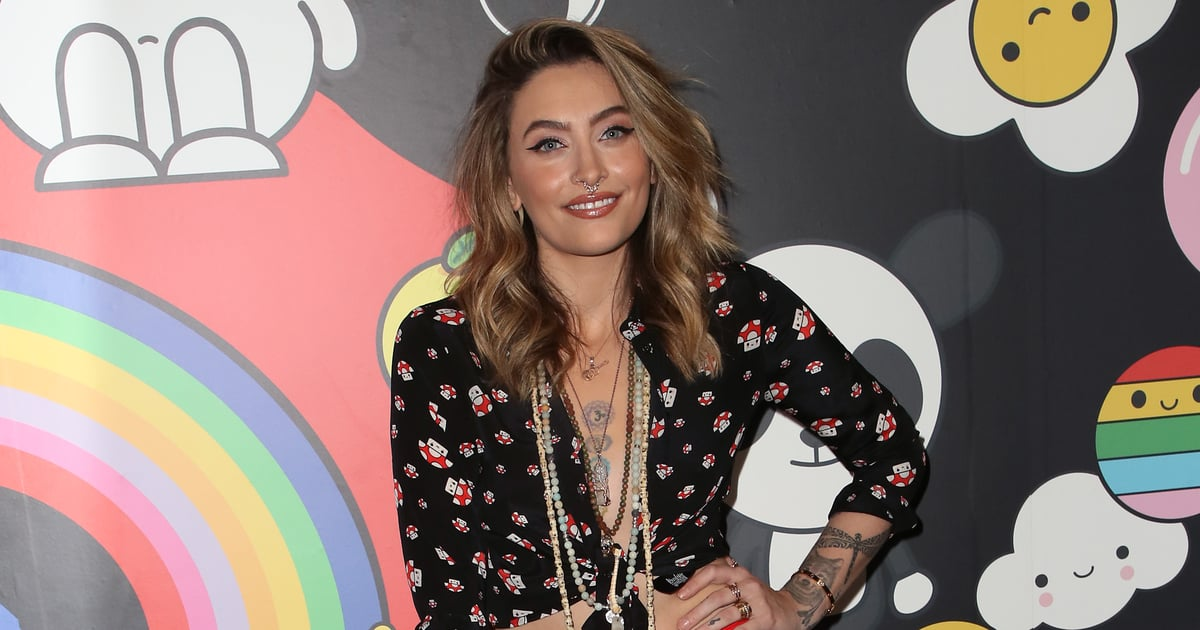 Paris Jackson attended an Alice + Olivia event with a new wheat-blond hair
