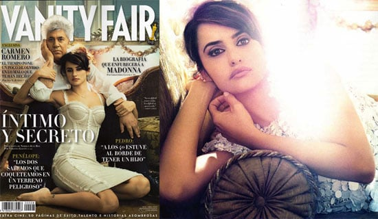 Photos of Penelope Cruz and Pedro Almodovar in Spanish Vanity Fair