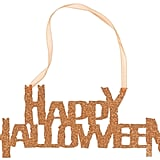 Creative Converting Happy Halloween Hanging Glitter Sign