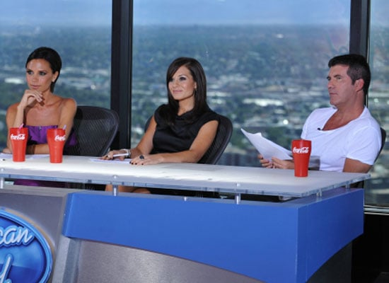 First Photo of Victoria Beckham Guest Judging American Idol 2010-01-08 15:30:00