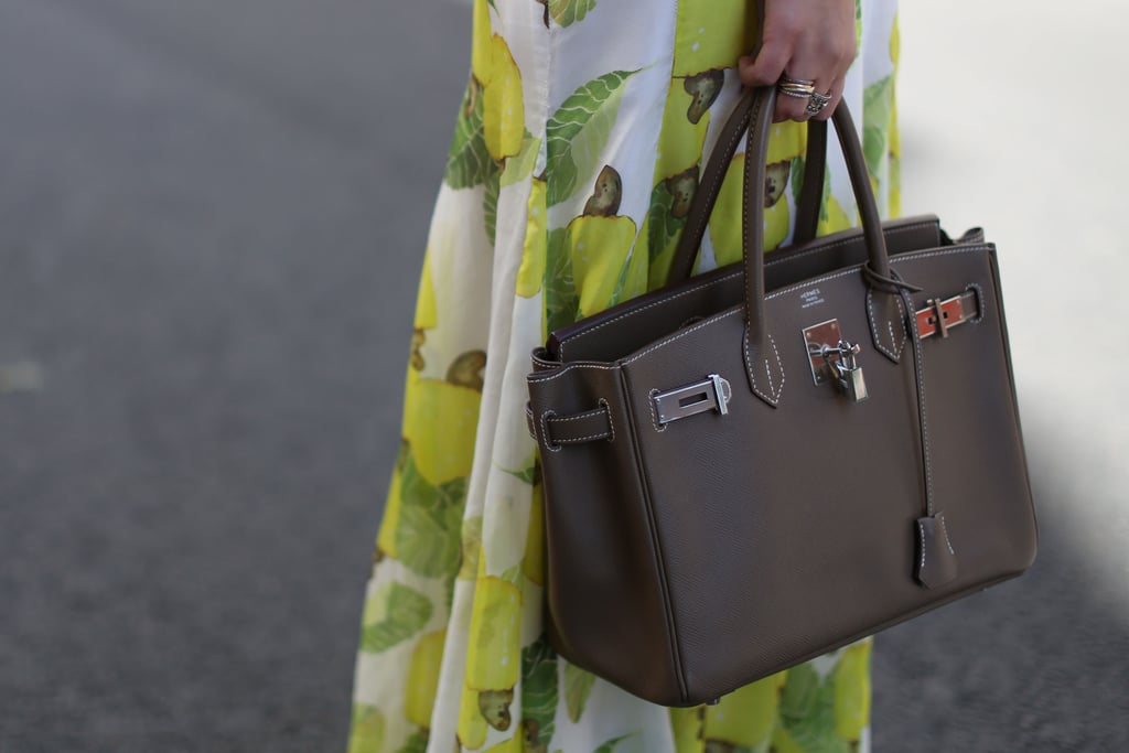 The most appropriate of luxe carryalls — Hermès for PFW.