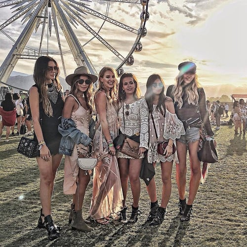 See the Best Festival Outfits from Weekend 1