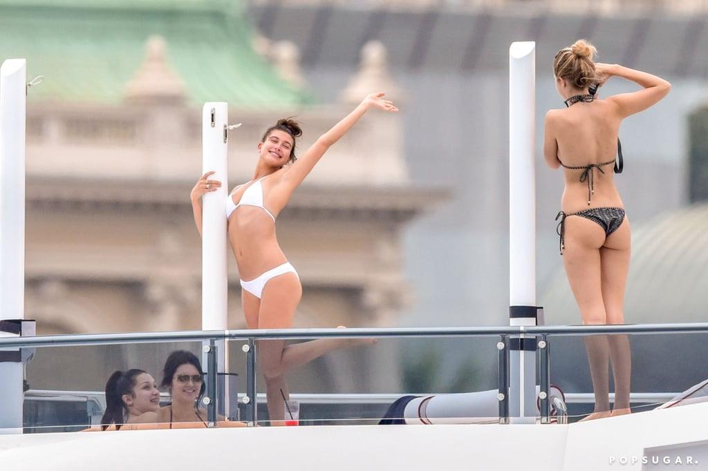Kendall Jenner and Gigi Hadid Bikini Pictures May 2015
