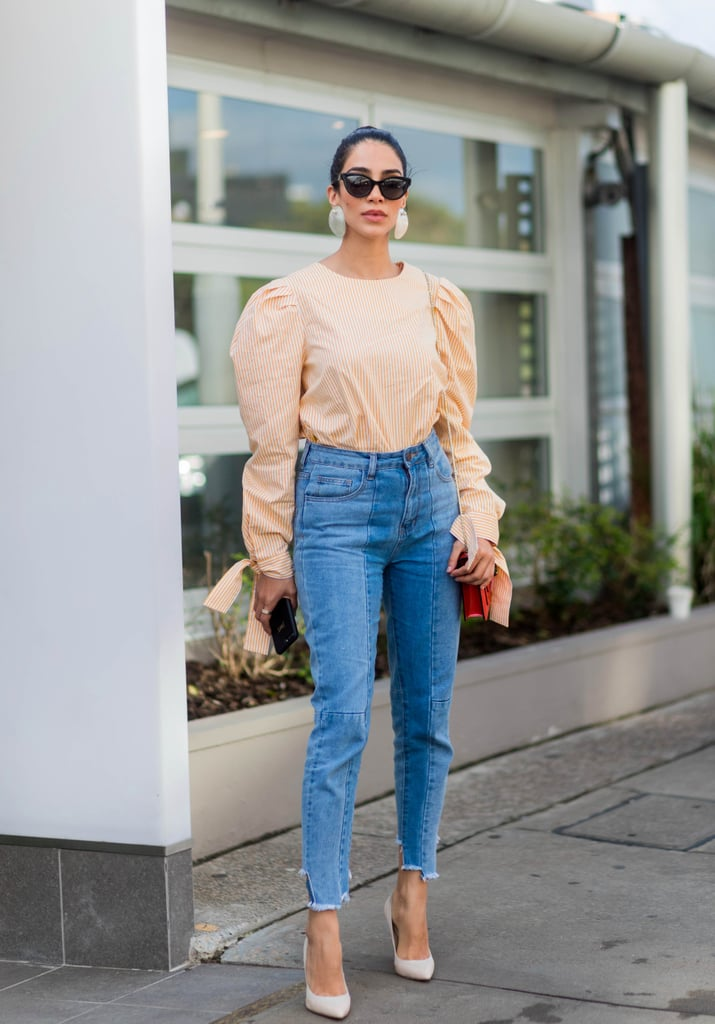 How to Wear High-Waist Jeans