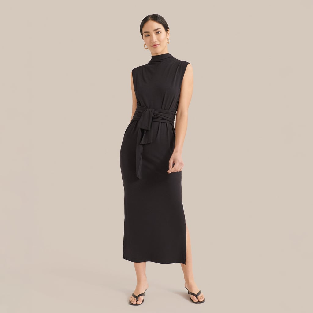 Teagan Sleeveless Tie-Front Dress