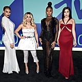 Fifth Harmony on MTV VMAs Red Carpet 2017