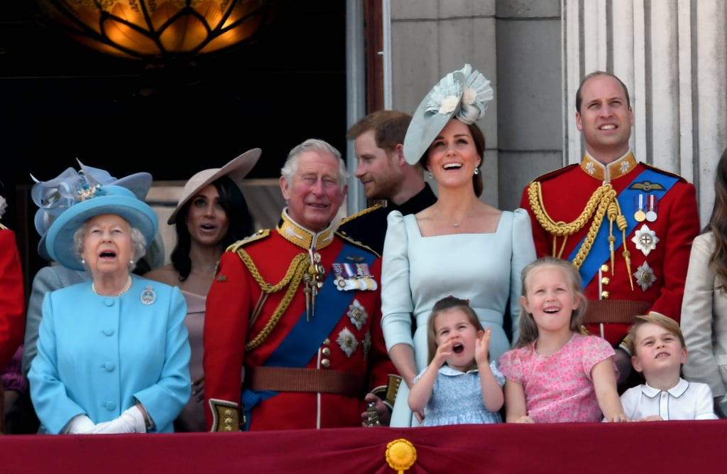 Trooping the Colour Brings the Crew Together