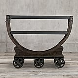 House Lannister: Vintage Wallpaper Factory Bar Cart