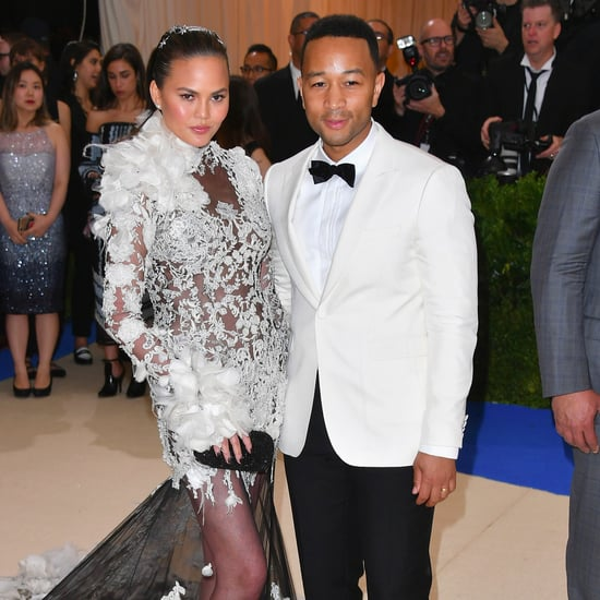 Chrissy Teigen in Marchesa at Met Gala 2017