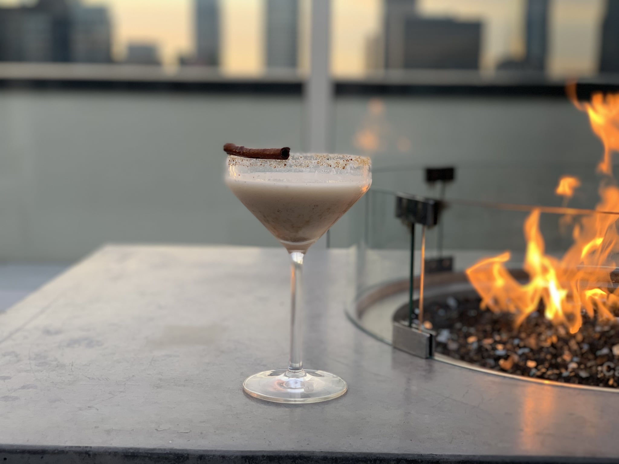This Gingerbread Martini Is So Good, You'll Be Drinking Your Dessert All Season Long