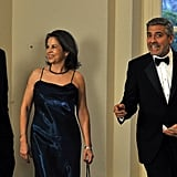 Michelle and Barack Wine and Dine the UK's First Couple at State Dinner