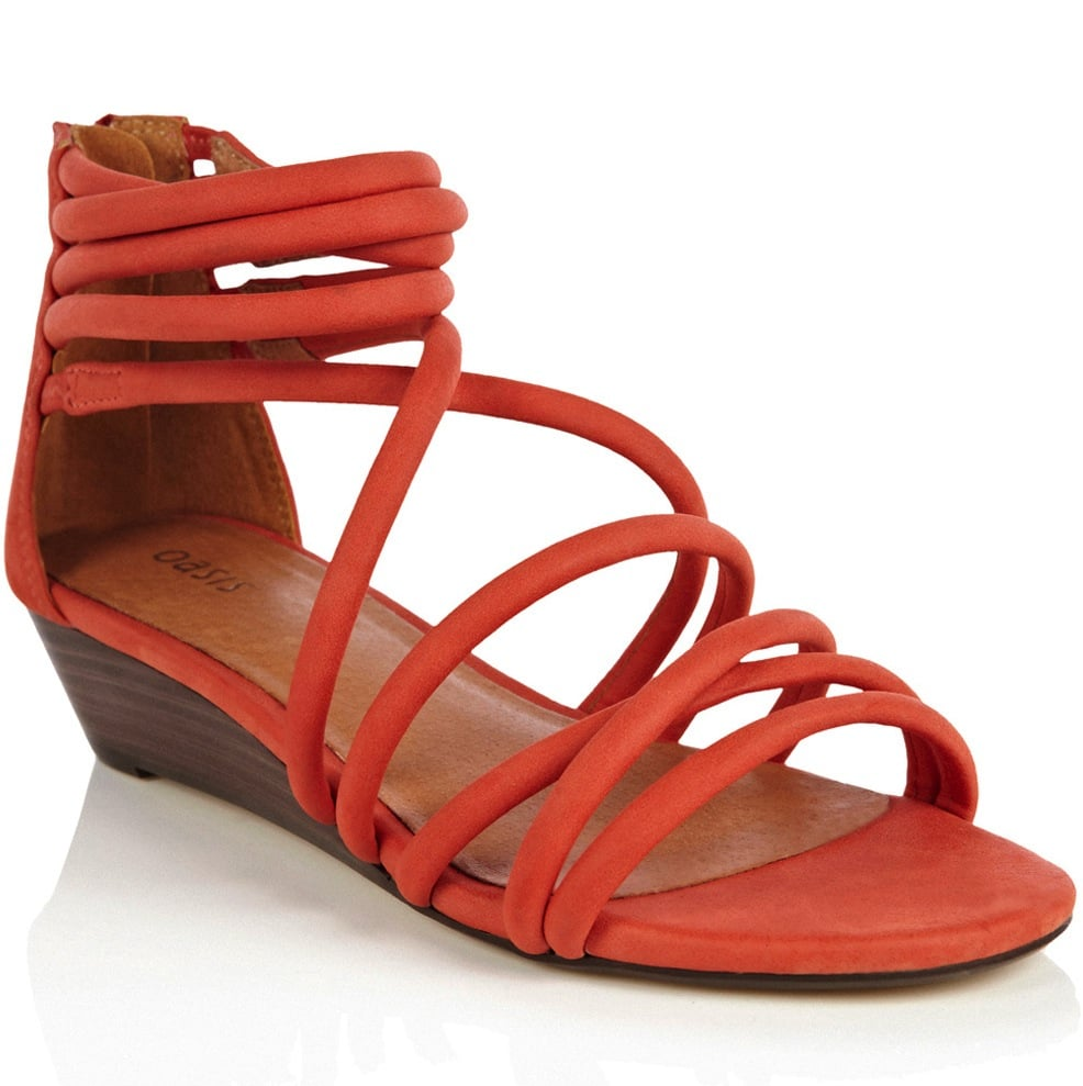 For all your weekend warrior adventures, keep it bright and cozy at once. These coral-hued strappy sandals will let you stay comfortable all day long and will punch up a more casual shorts look.