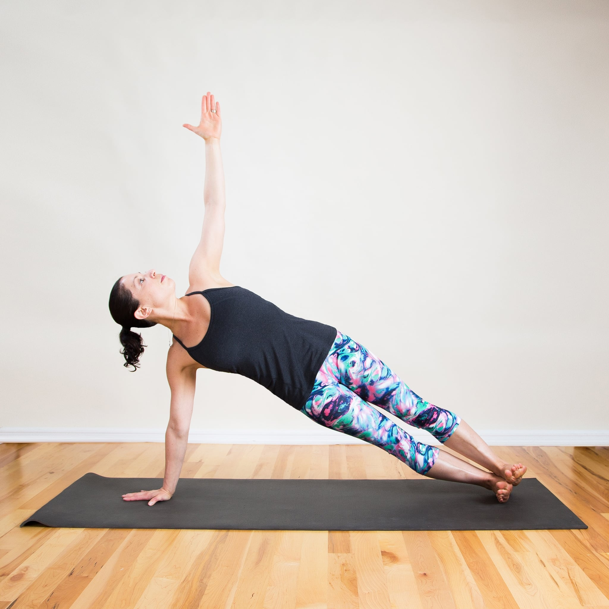 Side Plank Pose | Feeling Chilly? Do This Quickie Beginner ...
