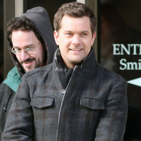 Joshua Jackson Filming Fringe in Vancouver Pictures