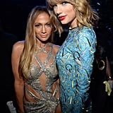 Taylor Swift and Jennifer Lopez at the 2014 VMAs