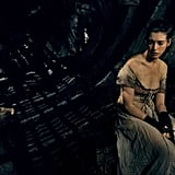 There's no doubt that Fantine lives a tough life, and the dark colors of the film never let you forget it.
