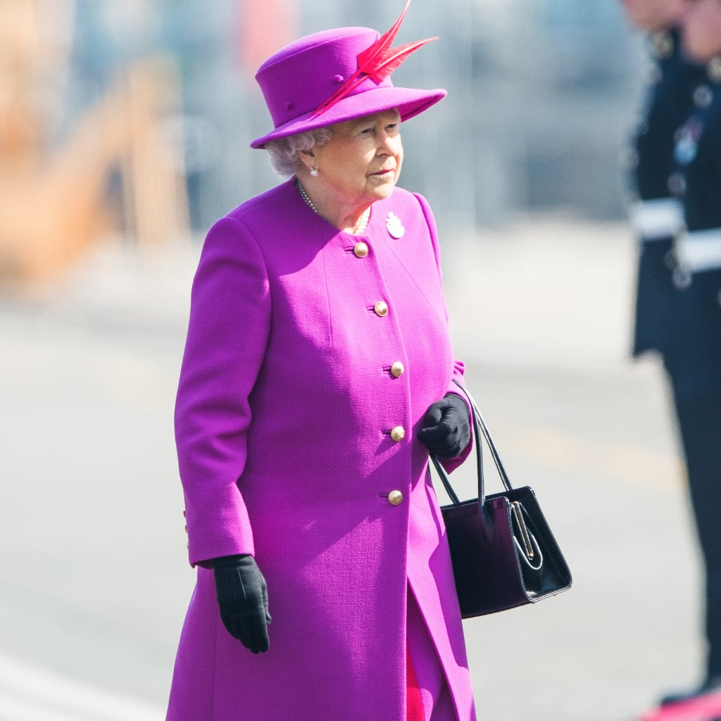 The Queen's Got a Coat Set in Every Single Colour