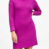 Petite Turtleneck Sweater Dress