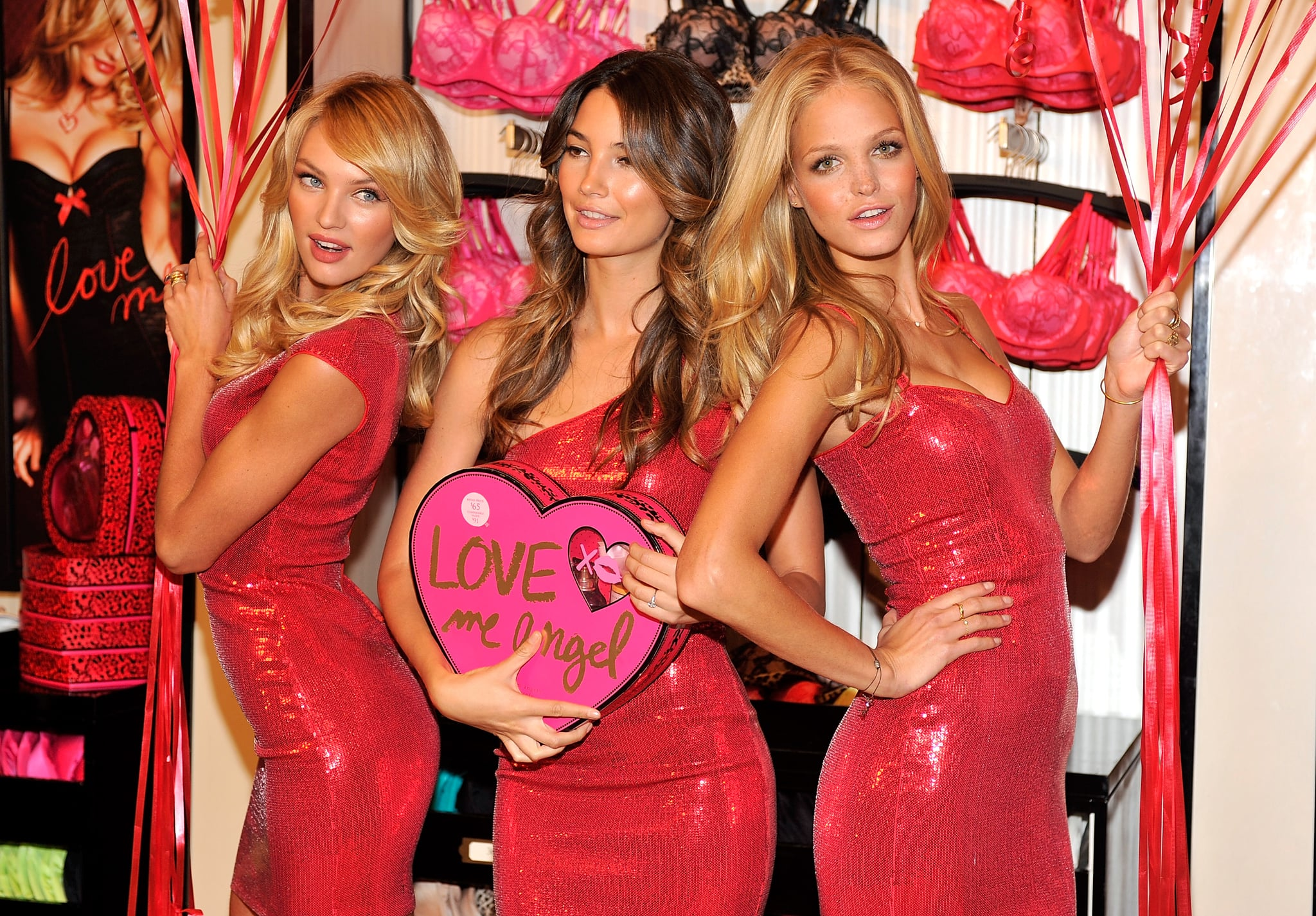 See All The Shots of Victoria's Secret Models Candice ...