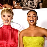 Pictured: Lauren Morelli and Samira Wiley