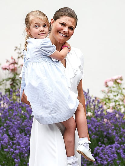 The Sweet Meaning Behind Princess Estelle's Powder Blue Smock Dress (Hint: It Once Belonged to Another Royal!)