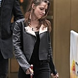 Kristen Stewart stepped out in NYC.