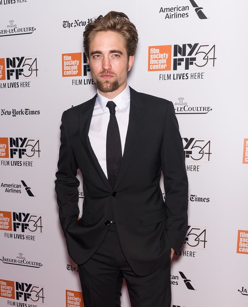 Robert Pattinson attended the New York Film Festival solo on Saturday evening. The actor, who was on hand for the screening of The Lost City of Z, flashed his sexy smolder for the cameras before linking up with costar Sienna Miller on the red carpet. Even though Rob didn't have his fiancée, FKA Twigs, by his side, we did catch them making their way out of LAX airport in late September, just four months after Rob hit the red carpet at the Met Gala. Luckily, Rob recently wrapped up production for Good Time and Damsel, so expect to see more of him in the months to come.      Related:                                                                                                           Looking at These Robert Pattinson GIFs Is the Best Thing You Can Do For Your Health